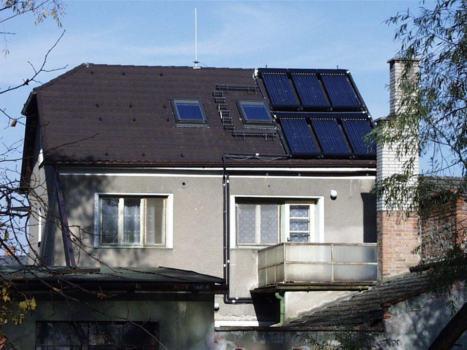 ZDROJE A SPOTŘEBIČE ZDROJE : Elektrokotel, kotel na tuhá paliva Tepelné čerpadlo, sluneční kolektory.