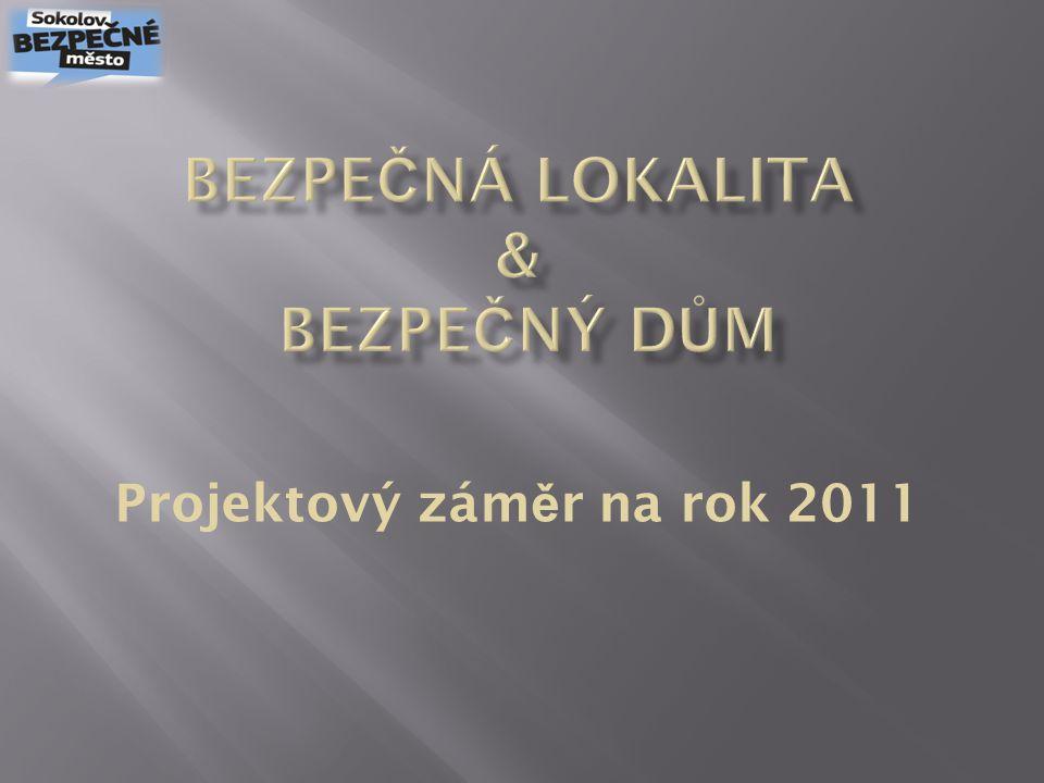 Projektový zám ě r na rok 2011