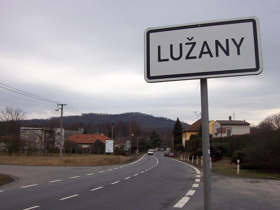1 LUŽANY Tento projekt je spolufinancován Evropským sociálním fondem a státním rozpočtem České republiky.