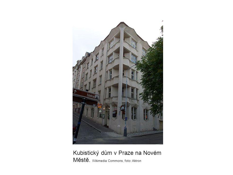 Kubistický dům v Praze na Novém Městě. Wikimedia Commons, foto: Aktron