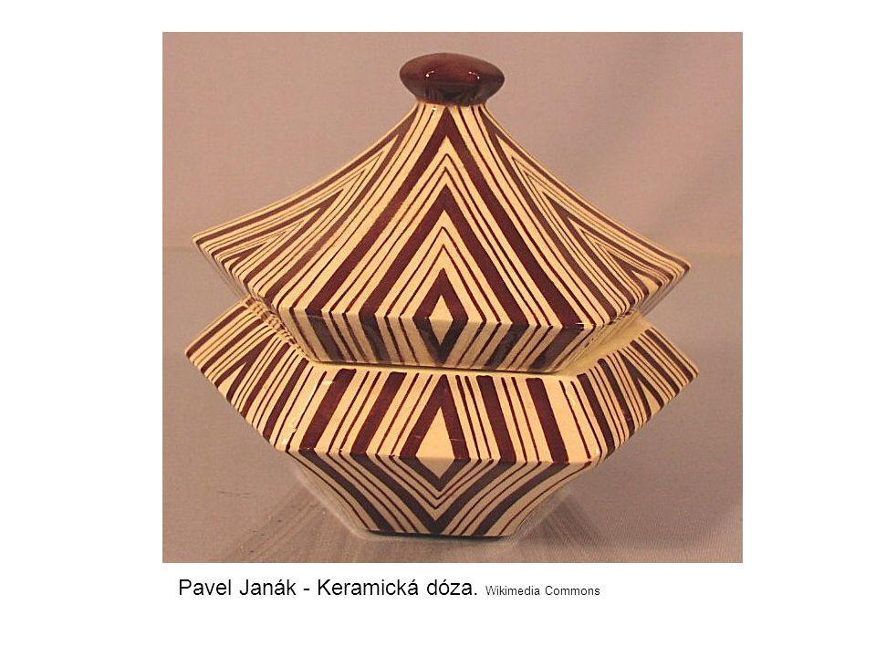 Pavel Janák - Keramická dóza. Wikimedia Commons