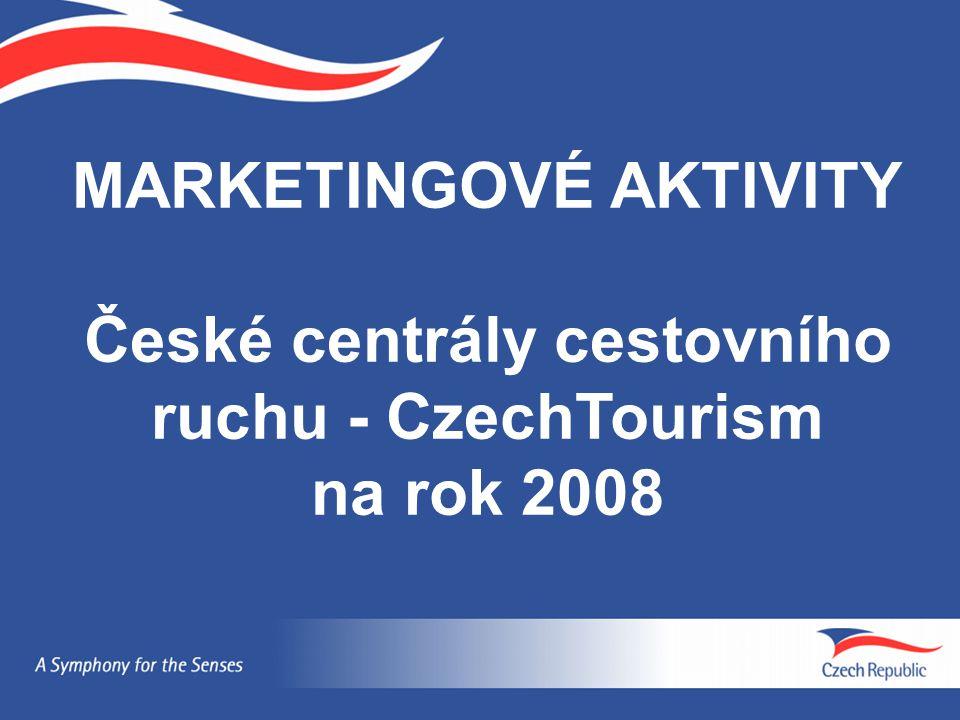 MARKETINGOVÉ AKTIVITY České centrály cestovního ruchu - CzechTourism na rok 2008