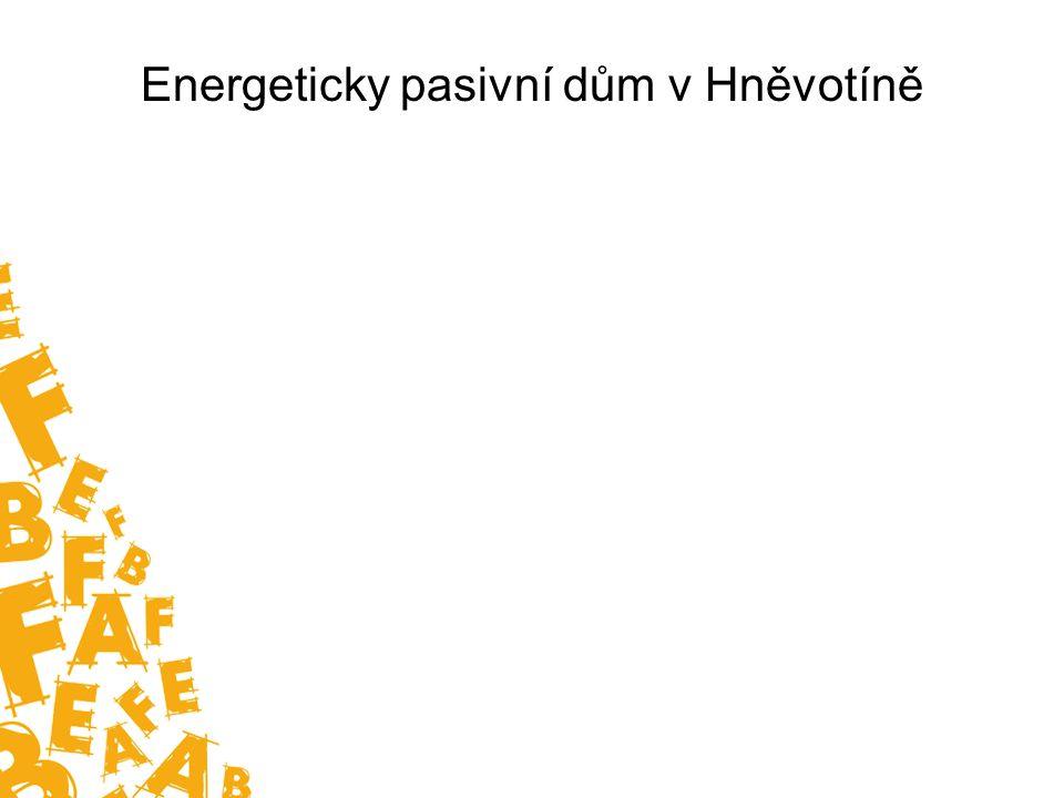 Energeticky pasivní dům v Hněvotíně