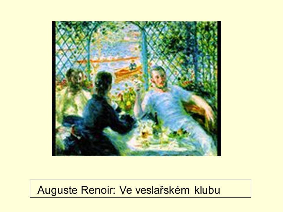 A.Renoir: Houpačka Edgar Degas: Hodina baletu