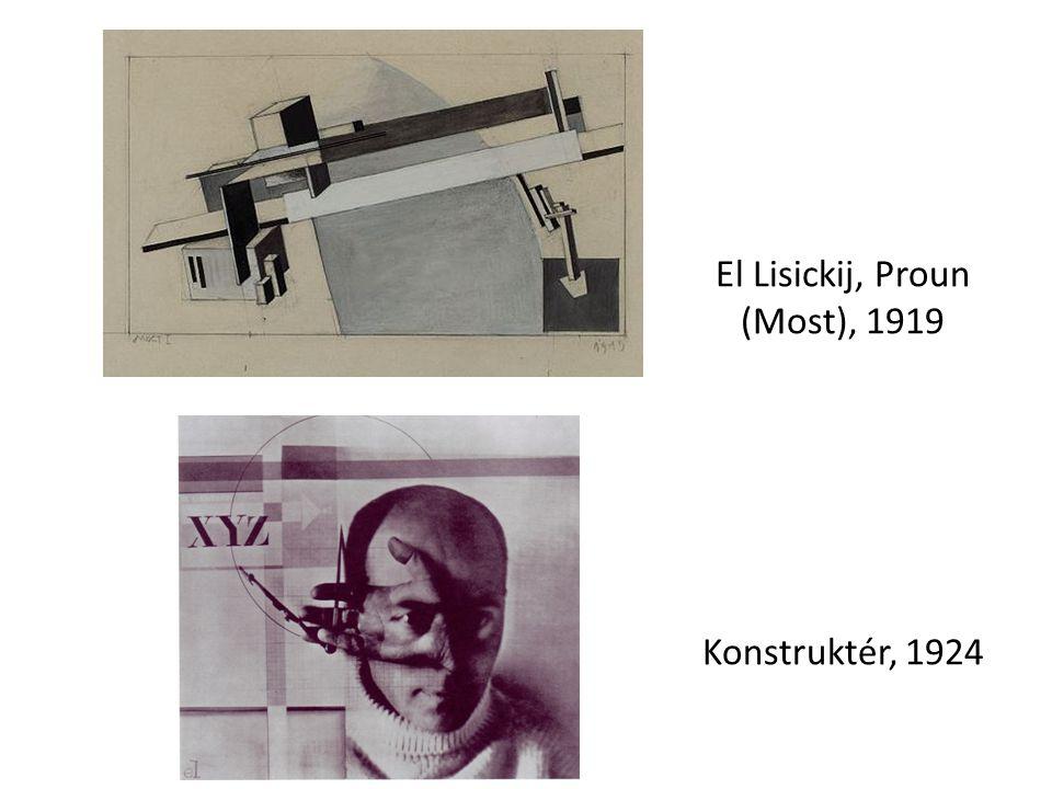 El Lisickij, Proun (Most), 1919 Konstruktér, 1924