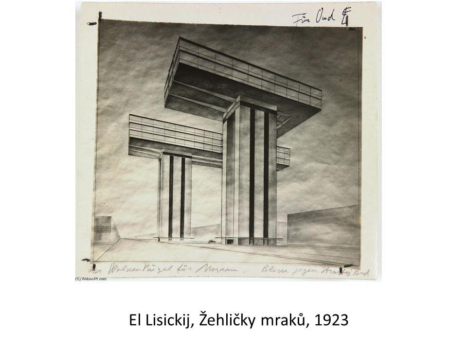 El Lisickij, Žehličky mraků, 1923