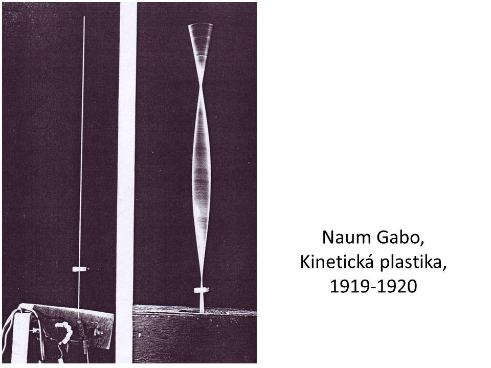 Naum Gabo, Kinetická plastika, 1919-1920