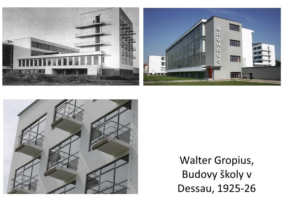 Walter Gropius, Budovy školy v Dessau, 1925-26