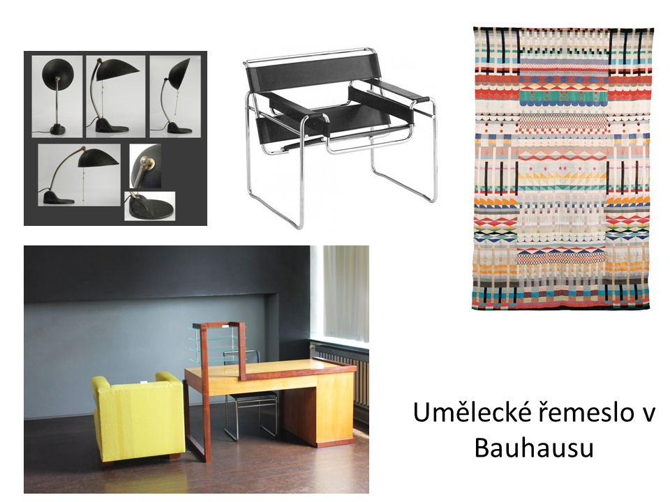Umělecké řemeslo v Bauhausu