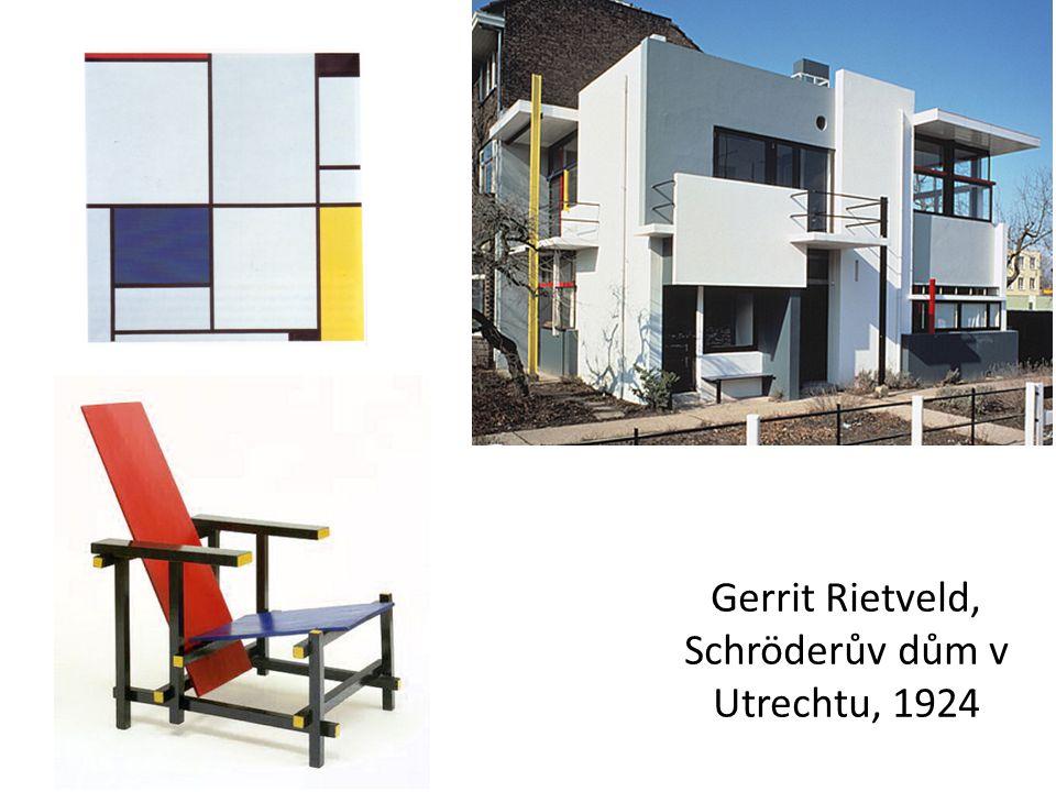 Gerrit Rietveld, Schröderův dům v Utrechtu, 1924