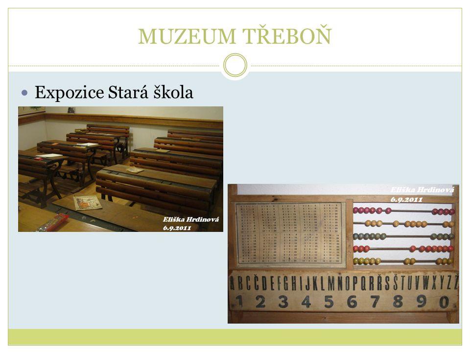 MUZEUM TŘEBOŇ Expozice Stará škola