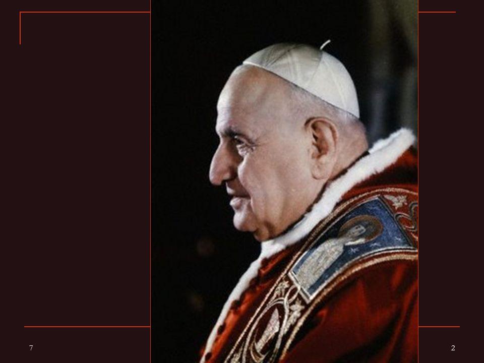 Před 50 lety byl zahájen Druhý vatikánský koncil Ve čtvrtek 11.