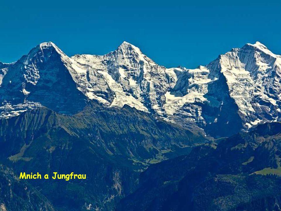 Kleine Scheidegg Zde je horolezec