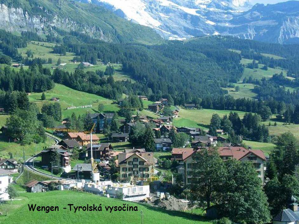 Jaro v Bernských alpách