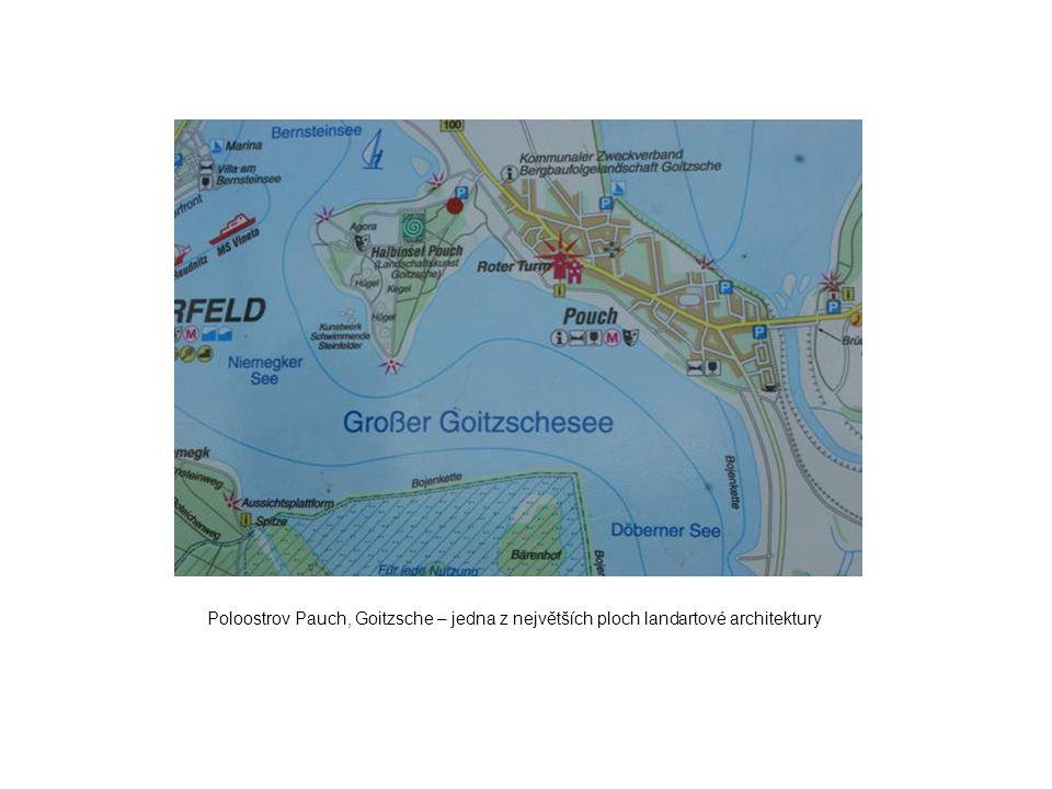 Poloostrov Pauch, Goitzsche – jedna z největších ploch landartové architektury
