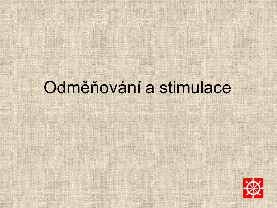 Odměňování a stimulace