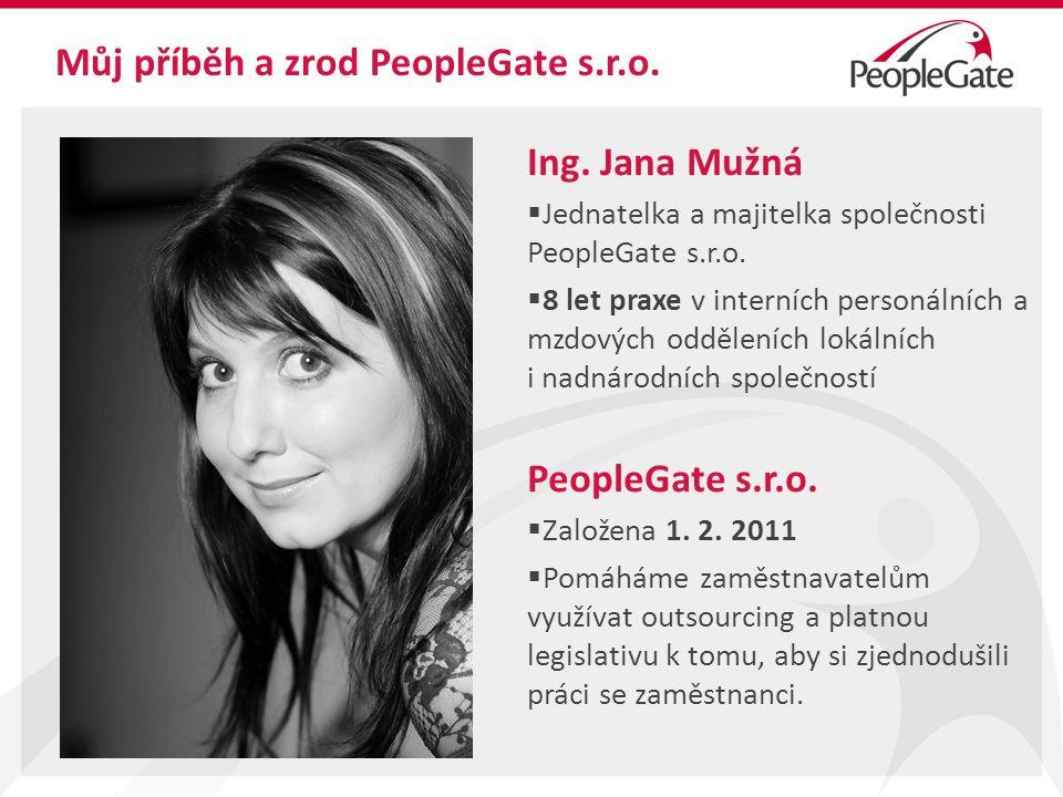 Můj příběh a zrod PeopleGate s.r.o.Ing.