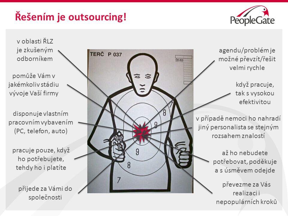 Řešením je outsourcing.