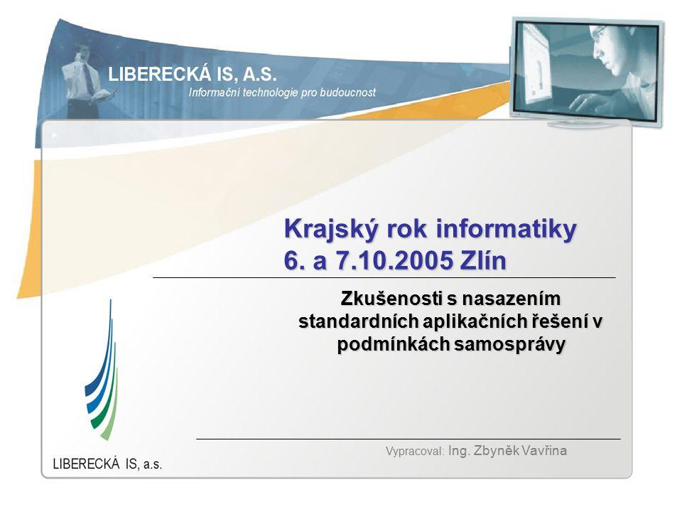 Základní info o Liberecká IS, a.s.