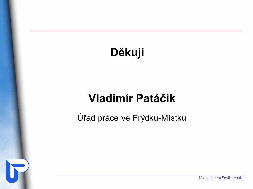 Úřad práce ve Frýdku-Místku Děkuji Vladimír Patáčik Úřad práce ve Frýdku-Místku