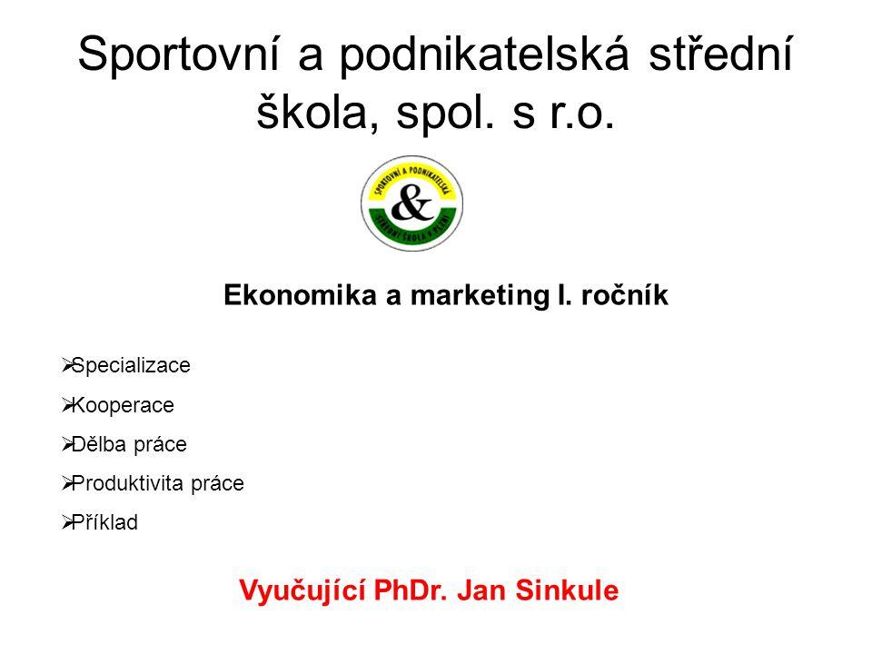 Sportovní a podnikatelská střední škola, spol.s r.o.