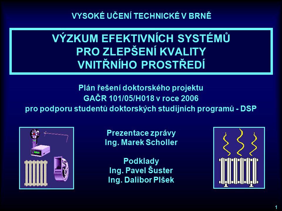 Plán společných aktivit studentů v roce 2006 SPOLEČNÉ VZDĚLÁVACÍ KURZY ●Kurz Metody simulace energetické náročnosti budov Ing.