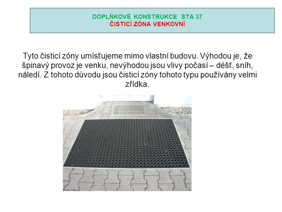DOPLŇKOVÉ KONSTRUKCE STA 37 PODHLEDY Podhled je konstrukce upevněná ke stropní konstrukci nebo konstrukci krovu.