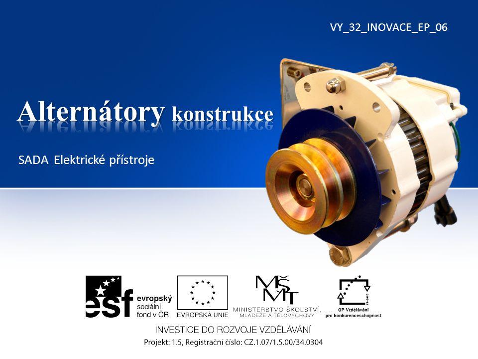 Multifunkční regulátor alternátoru