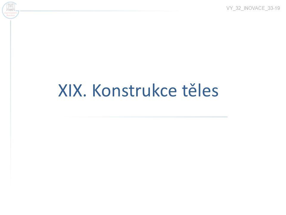 XIX. Konstrukce těles VY_32_INOVACE_33-19