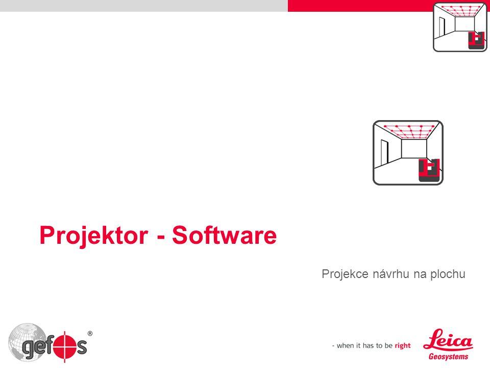 Projektor - Software Projekce návrhu na plochu