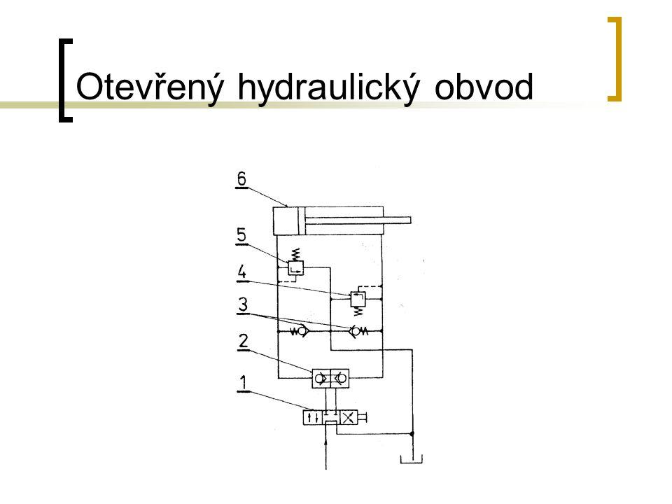 Otevřený hydraulický obvod