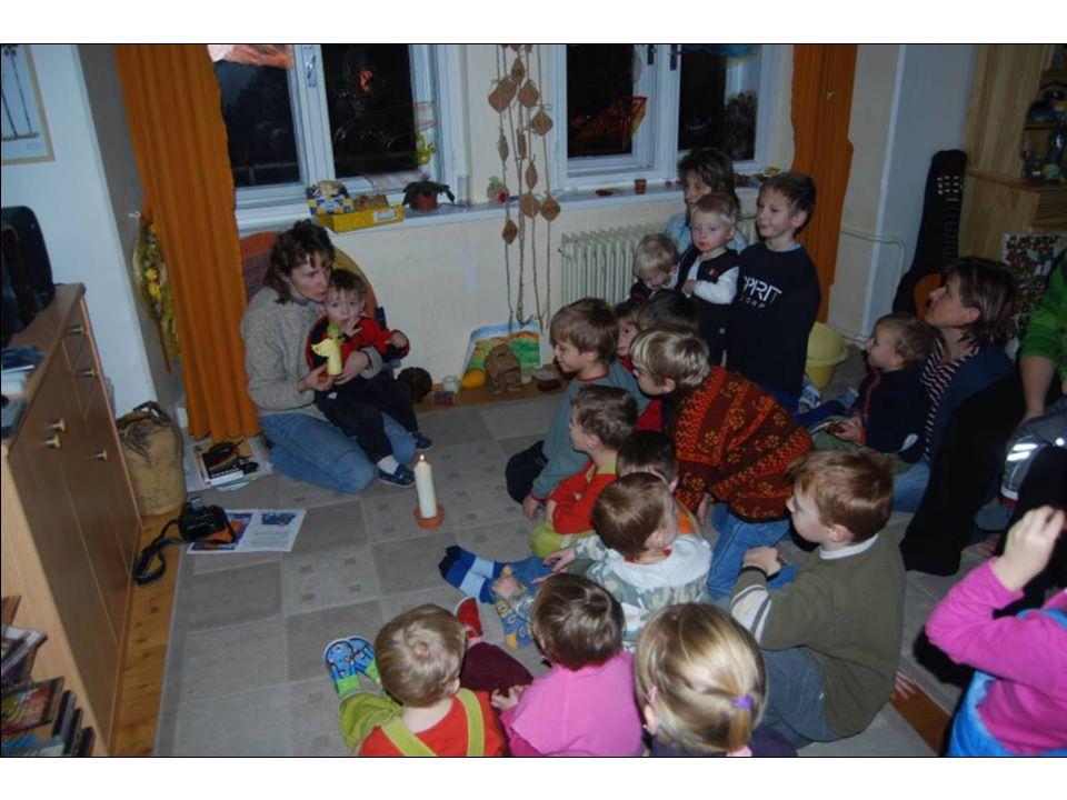 5) Výchovné, vzdělávací a zábavné akce pro děti a matky s dětmi (Misijní klubko, Centrum pro rodinu – partner projektu, výtvarné kroužky, výuka náboženství apod.)
