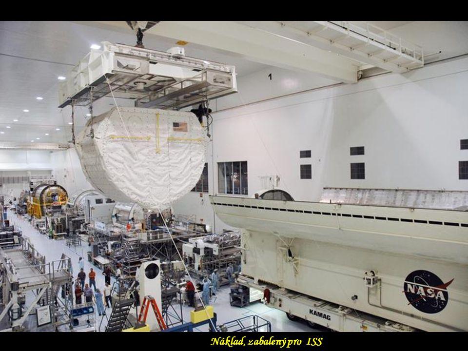 Náklad, zabalený pro ISS