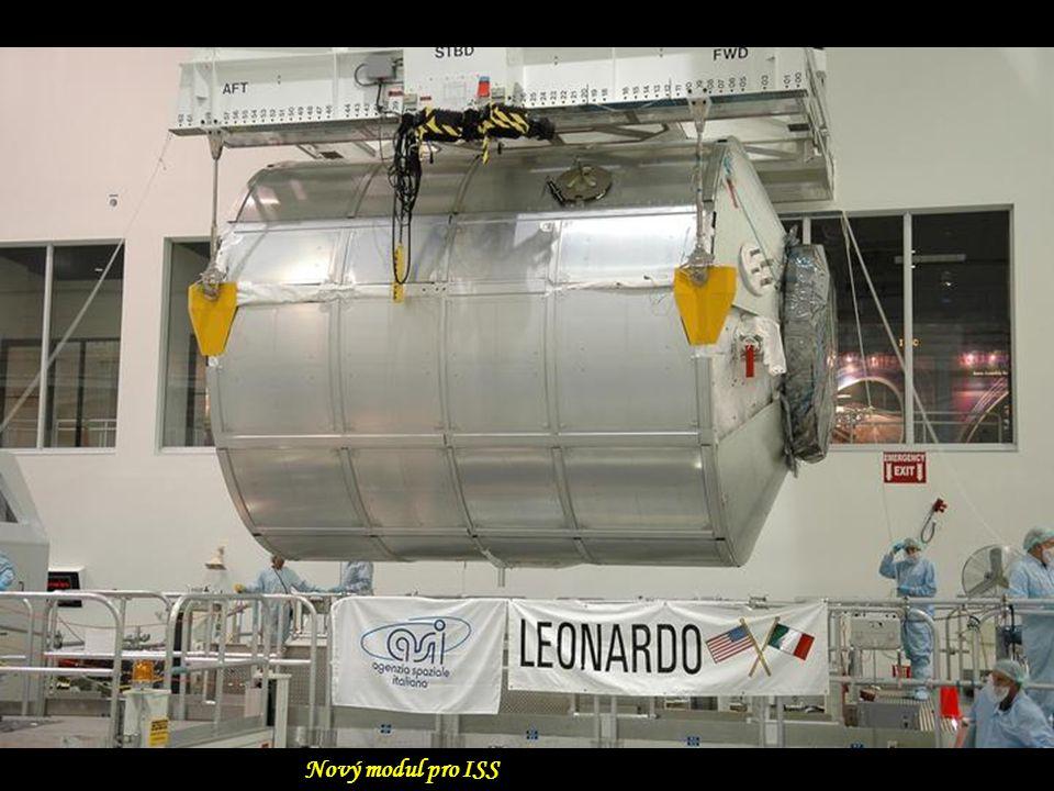 Nový modul pro ISS