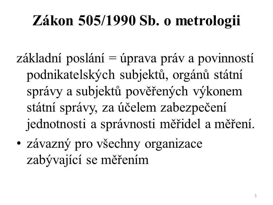 5 Zákon 505/1990 Sb.