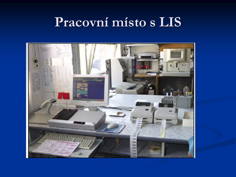 Pracovní místo s LIS