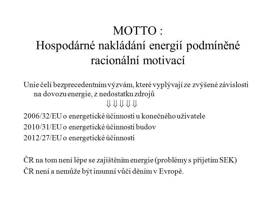 Ustanovení zákona o HE a vyhlášky k měření a registraci tepla v budově – 4.