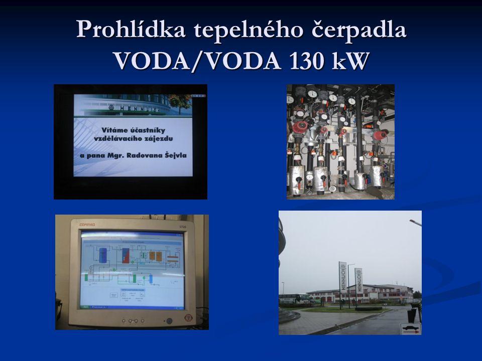 Prohlídka tepelného čerpadla VODA/VODA 130 kW