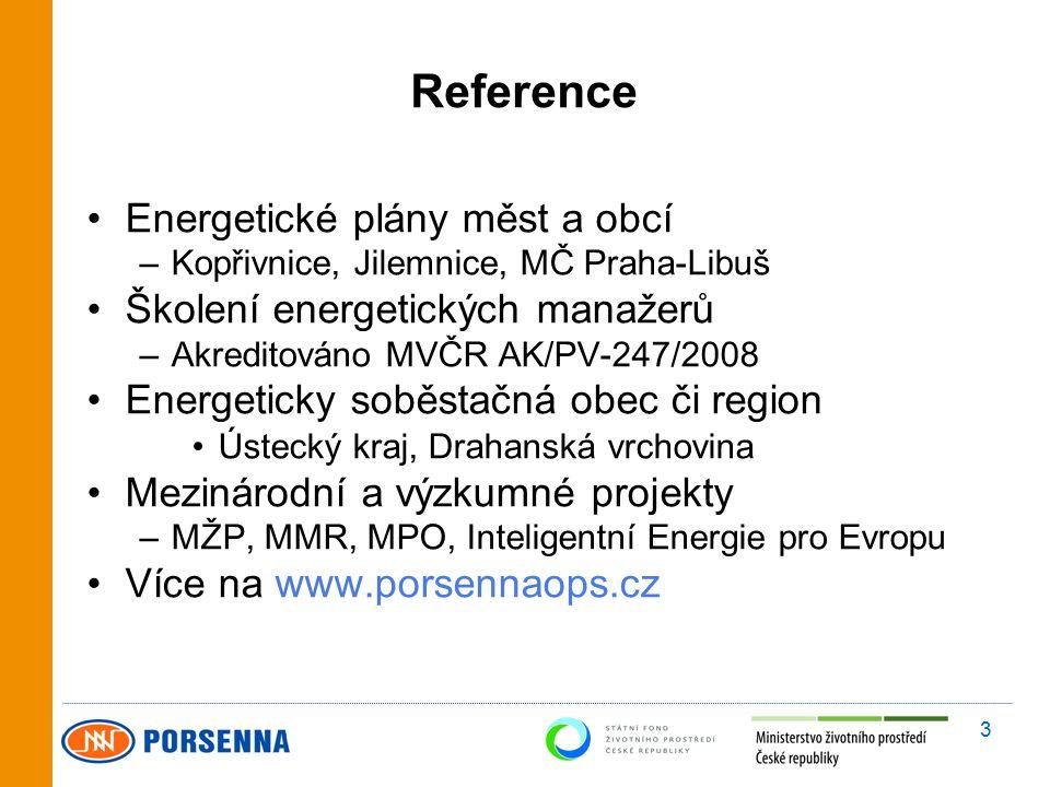 4 Základní charakteristika projektu Projekt byl podpořen ze Státního fondu životního prostředí Hlavním cílem projektu je představit možnosti a přínosy systému environmentálního řízení (především systému EMAS), a to se zvláštním důrazem na komunální energetiku a úspory energie.