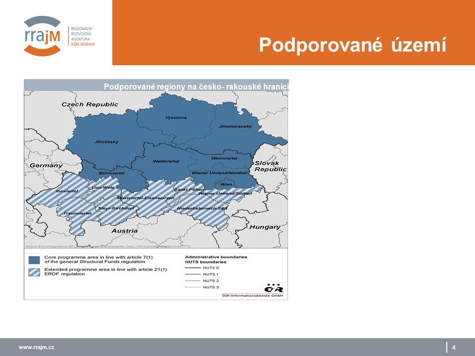 www.rrajm.cz 5 Priority a opatření PRIORITA P1 socioekonomický rozvoj, transfer know-how a cestovní ruch P2 regionální dostupnost a udržitelný rozvoj P3 technická asistence OPATŘENÍ 1.