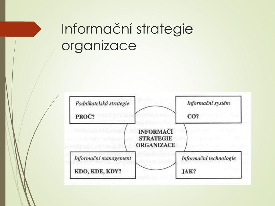 Informační strategie organizace