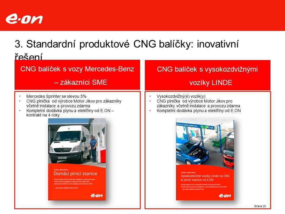3. Standardní produktové CNG balíčky: inovativní řešení Mercedes Sprinter se slevou 5% CNG plnička od výrobce Motor Jikov pro zákazníky včetně instala