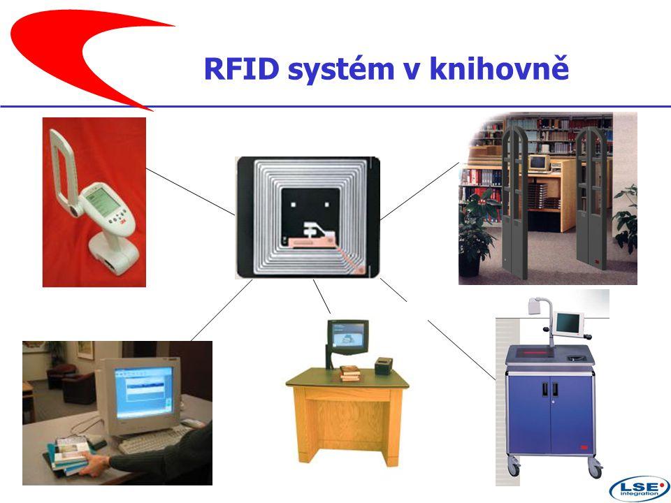 RFID systém v knihovně