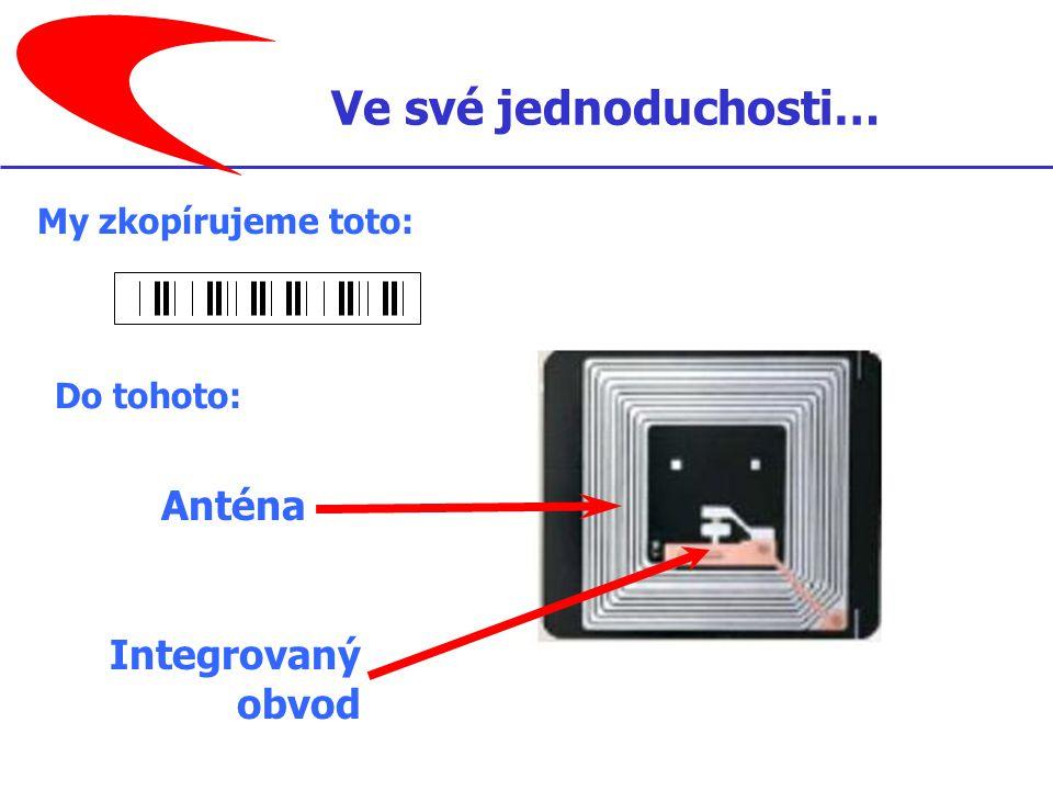My zkopírujeme toto: Anténa Integrovaný obvod Do tohoto: Ve své jednoduchosti…