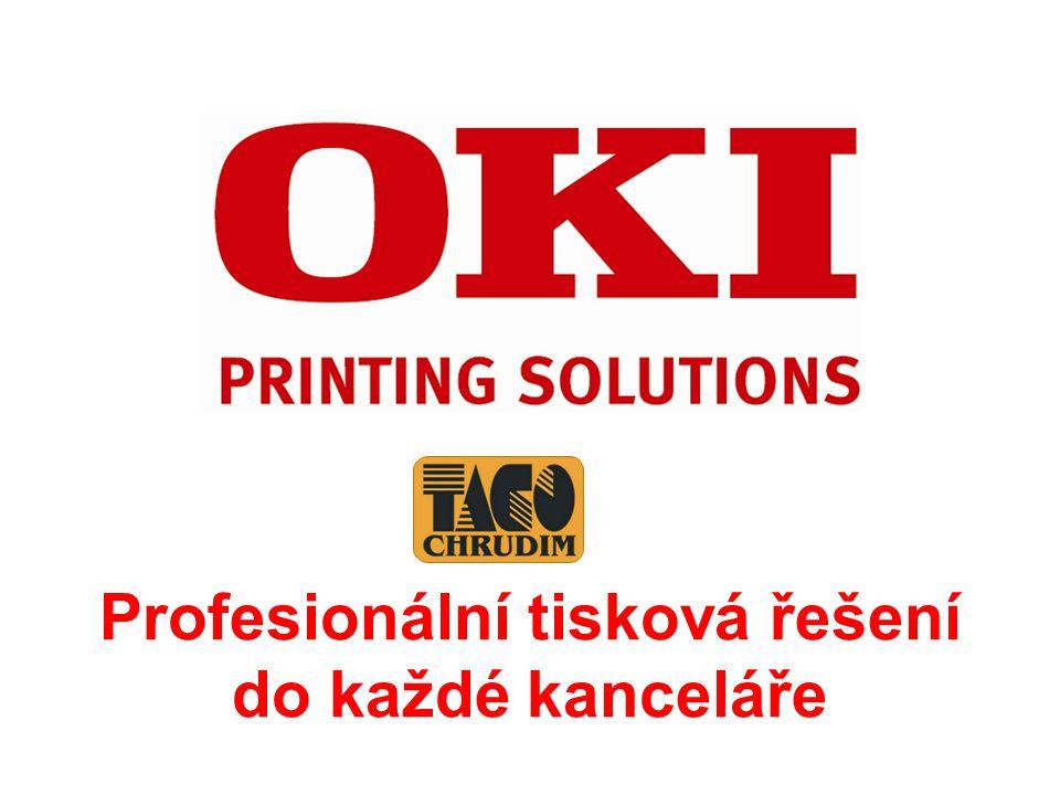 Profesionální tisková řešení do každé kanceláře