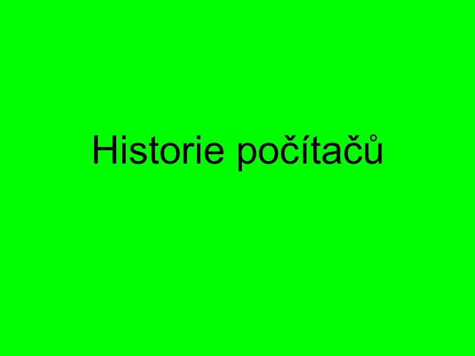 Zpracoval: Petr Štancl a Radek Tůma