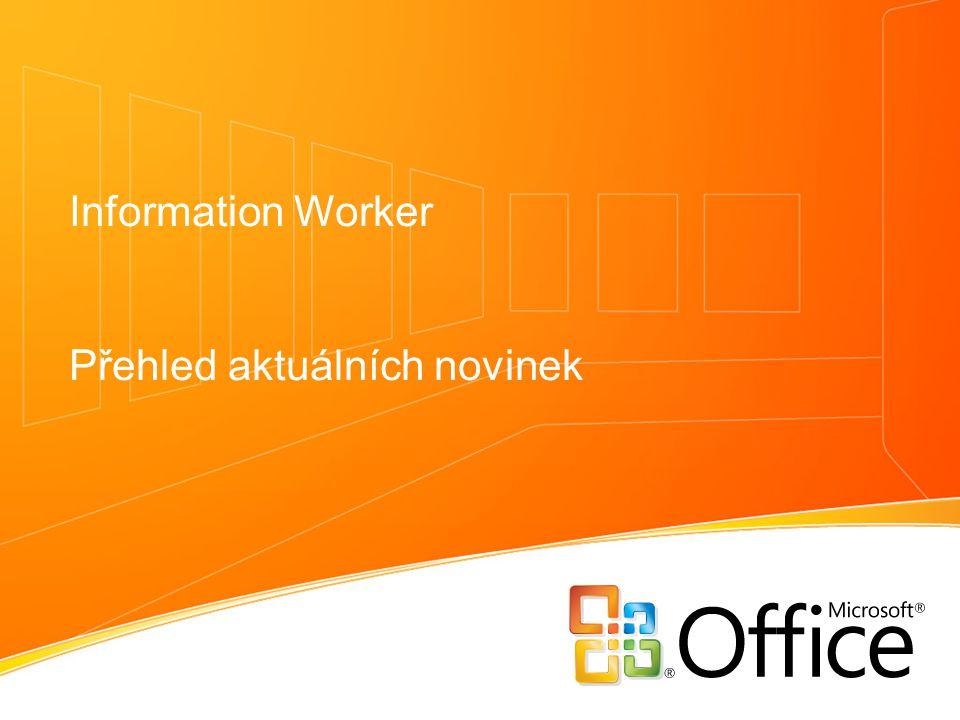 Information Worker Přehled aktuálních novinek