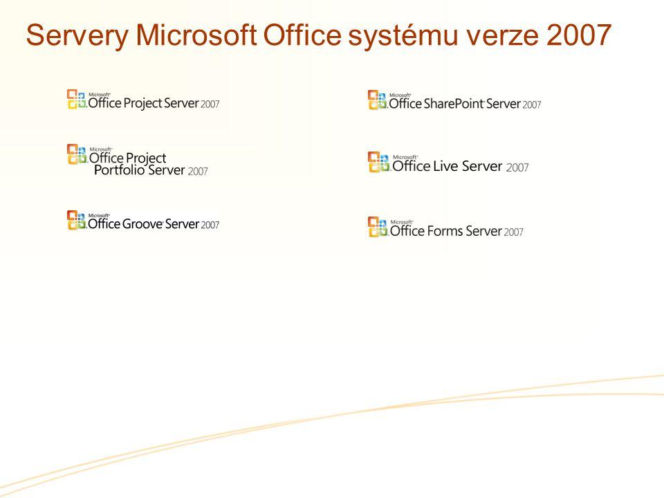 Servery Microsoft Office systému verze 2007