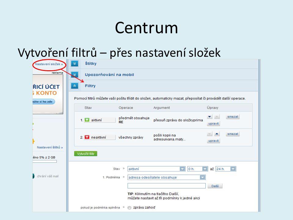 Seznam V e-mailu lze nastavit podpis, který se automaticky připojí ke zprávě.