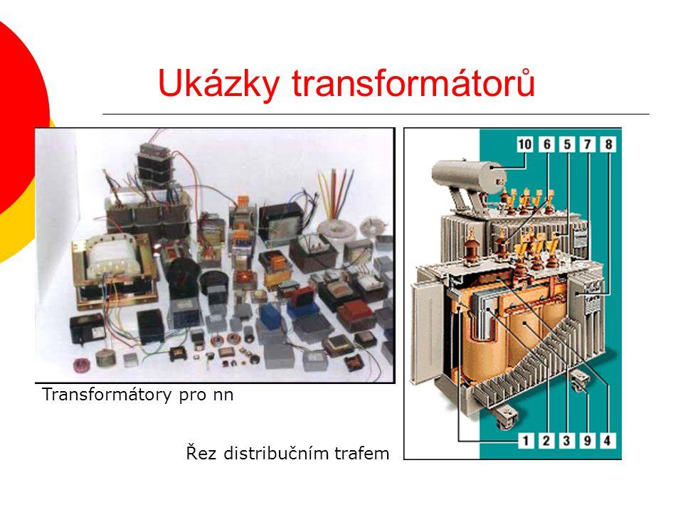 Ukázky transformátorů Řez distribučním trafem Transformátory pro nn